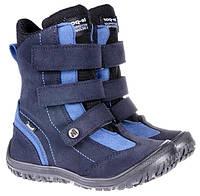 Ортопедические ботинки Mrugala зимние синие 7265-76