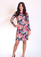 Платье повседневное, молодежное   Мальвина размеры 42, 44, 46, 48