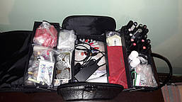Кейс для мастеров красоты, черный лаковый, фото 2