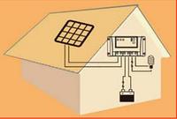PV Контролер заряду для сонячних батарей LS1024B 10А 12/24Vauto PWM, фото 1