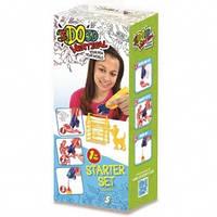 Набор для детского творчества с 3D-маркером - ЖИВОТНЫЕ (3D-маркер, шаблон) от IDO3D - под заказ
