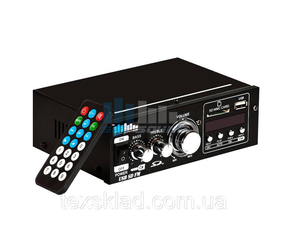Трансляционный усилитель SD-088 (2*30W)/8 Om