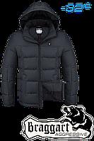 Куртка на меху мужская Braggart Aggressive - 3733O графит