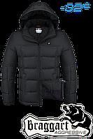 Куртка на меху мужская Braggart Aggressive - 3733L черный