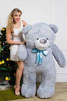 Мишка плюшевый Ветли серый 160 см