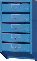 Ящик почтовый на 5 секций