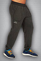 Мужские спортивные штаны серые, фото 1