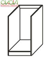 К1 (белое) н60/82 Д Шкаф напольный под духовку