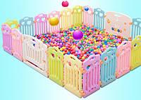 Ограждение для детей разборное FunGame 390*350