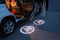 Дверной логотип LED LOGO 001 TOYOTA, дверная подсветка,  светодиодный логотип, подсветка двери на авто,