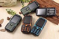 A6 Противоударный телефон на 2 sim с суппер батареей и фонариком !!!, фото 1