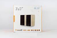 Колонки для ПК SPS FnT-101, колонки для компьютера, проводные колонки, мощные музыкальные колонки для ПК