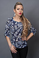 Блуза мод №493-2, размеры 40,42,44,46,48 духи