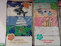 Комплект бодиков для малышей CARTER'S с длинным рукавом (5шт.)