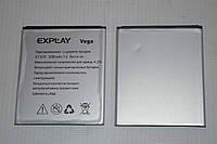 Оригинальный аккумулятор (АКБ, батарея) для Explay Vega 2000mAh