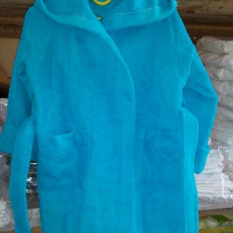 Детский махровый халат ,100% хб ; 3 года