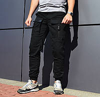 Мужские брюки карго Bane черные