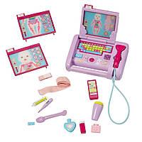 Медицинский центр для кукол Беби Борн Baby Born Baby Born Interactive Medical Laptop