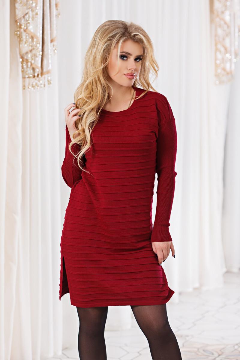 Д4702 Платье вязанное размер 44-48
