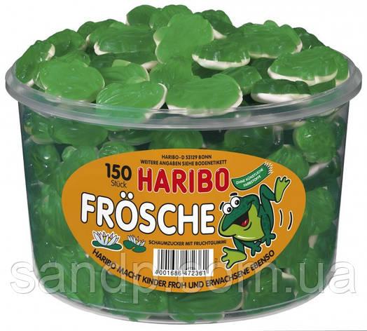 Желейные конфеты Лягушки  Харибо Haribo  1050гр. 150шт., фото 2