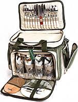 Сумка - набор для пикника НВ 4 -533 (на 4 персоны), фото 1