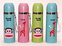 Термос детский 500 мл T57-2, термос для напитков, термос для ребенка в школу