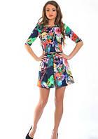 Платье повседневное, молодежное   Лаура  размеры 42, 44, 46, 48