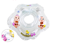 Круг на шею для купания младенцев Kinderenok серия Baby collection PASTEL Капелька 007/204238