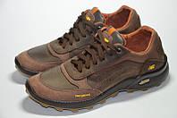 Мужские кожаные кроссовки Gepard, коричневые