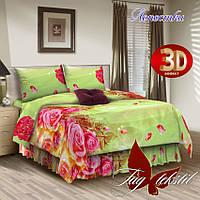Комплект постельного белья Лепестки 2 - спальный