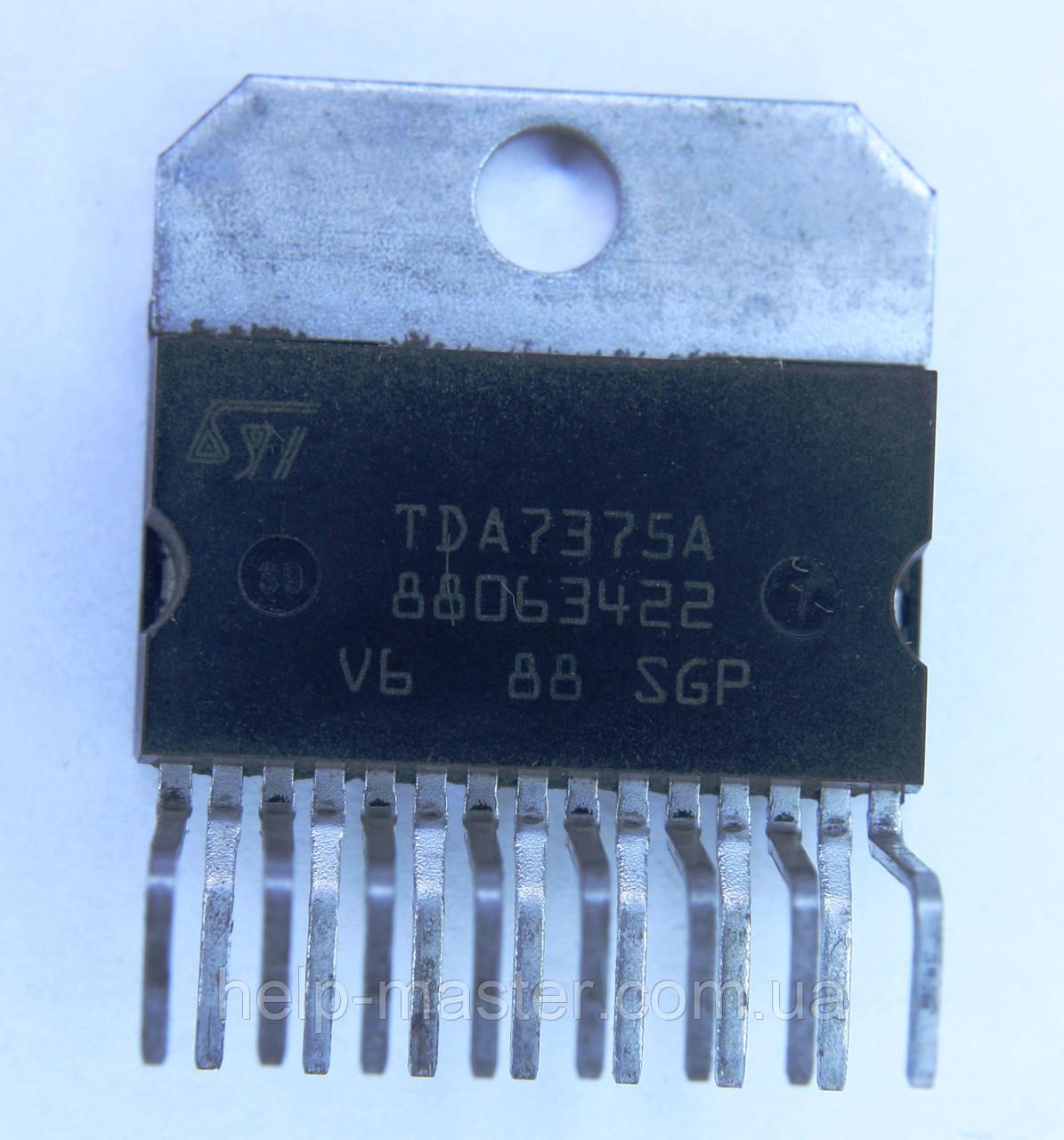 TDA7375A; (DBS15)