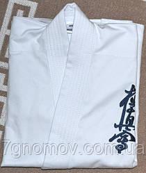 Кимоно детское для карате киокушинкай 100-108 см.