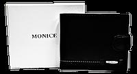 Мужской кошелек MONICE черного цвета QAQ-000223