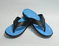 Мужские вьетнамки Даго голубые, фото 1