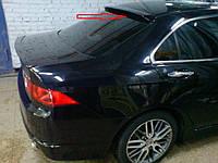 Спойлер заднего стекла (бленда, козырек) Honda Accord 2003-2007 г.в. Хонда Акорд
