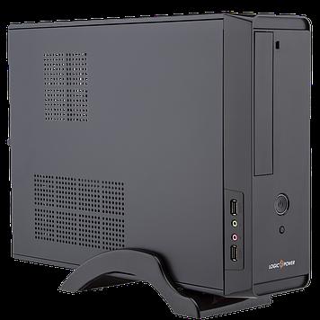 Компьютерный корпус LogicPower S621  400W Slim, mini-ITX/mATX, black