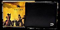 Мужской кошелек GEST черного цвета QAQ-000111