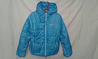 Куртка детская  для мальчика 4-8 лет,голубая