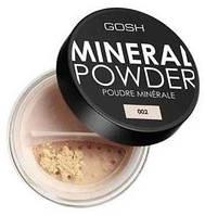 GOSH Пудра для лица. MINERAL POWDER 02 ivory 8 g