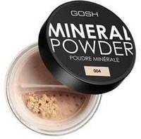 GOSH Пудра для лица. MINERAL POWDER 04 natural 8 g