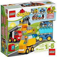 Лего Duplo Мої перші машини та вантажівки 10816