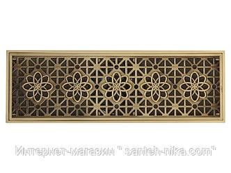 Сантехнический сливной трап,система слива сухой затвор Veragio VR.CAN-2057.BR цвет бронза,Италия,латунь