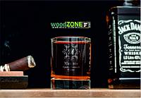 Именной стакан для виски «Брат с большой буквы»