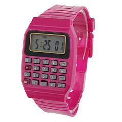 Наручний годинник з калькулятором Zentrum Red