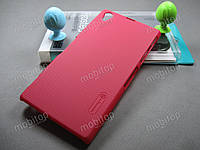 Чехол Nillkin Sony Xperia Z1 C6902 + пленка (красный), фото 1