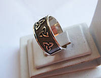Кольцо серебряное Триглав 20463