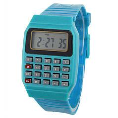 Наручний годинник з калькулятором Zentrum blue