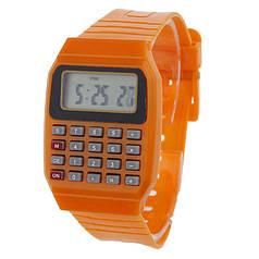 Наручний годинник з калькулятором Zentrum orange