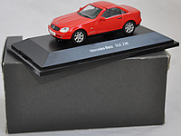 Коллекционный автомобиль Mercedes BenzSLK 230 1:43 Herpa
