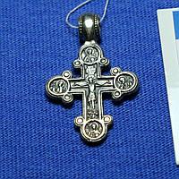 Православный крест из серебра Богоматерь Одигитрия КР-6